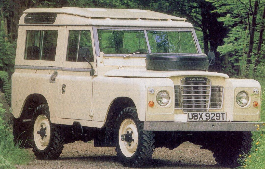 Land-Rover Series IIA